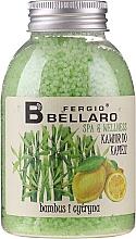 """Духи, Парфюмерия, косметика Смягчающие шарики для ванны """"Бамбук и лимон"""" - Fergio Bellaro Bamboo and Lemon Bath Caviar"""