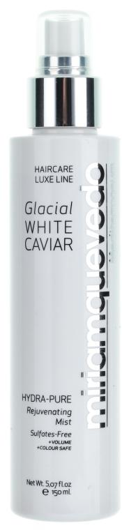 Увлажняющий восстанавливающий спрей с экстрактом прозрачно-белой икры - Miriam Quevedo Glacial White Caviar Hydra Pure Rejuvenating Mist