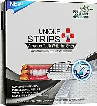 Духи, Парфюмерия, косметика Полоски для домашнего отбеливания зубов - Unique Strips Black Intensive