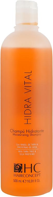 Шампунь увлажняющий - HairConcept Elite Pro Hidra Vital Moisturizing Shampoo