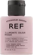 Духи, Парфюмерия, косметика Маска для блеска окрашенных волос pH 3.5 - REF Illuminate Colour Masque (мини)
