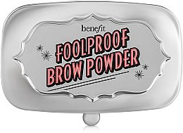 Пудра для бровей - Benefit Foolproof Brow Powder — фото N2