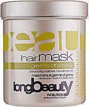 Духи, Парфюмерия, косметика Маска для волос с экстрактом пшеницы - Beauty Long Germs Of Wheat Hairmask
