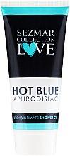 Духи, Парфюмерия, косметика Гель для душа и интимной гигиены - Hristina Cosmetics Sezmar Collection Love Hot Blue Aphrodisiac Shower Gel