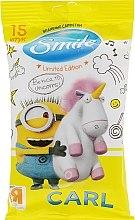 Духи, Парфюмерия, косметика Влажные салфетки Minions 15шт, Carl-2 - Smile Ukraine Baby
