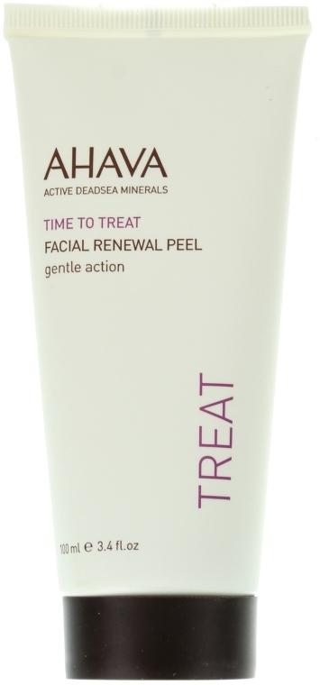 Средство мягкое, отшелушивающее для лица - Ahava Time to Treat Facial Renewal Peel