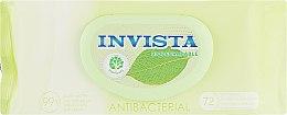 Духи, Парфюмерия, косметика Антибактериальные влажные салфетки, 72 шт - Invista Biodegradable Antibacterial
