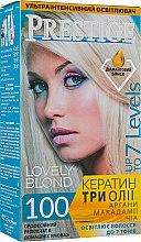 Духи, Парфюмерия, косметика Интенсивный осветлитель для волос - Vip's Prestige Lovely Blond 100