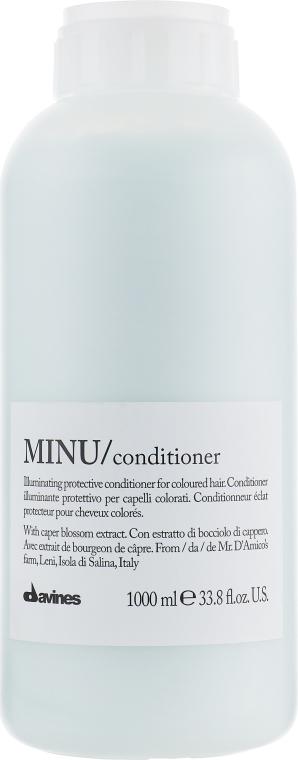 Кондиционер для придания блеска и защиты цвета волос - Davines Minu Conditioner