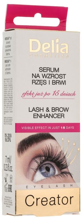 Кондиционер для роста бровей и ресниц - Delia Lash & Brow Enhancer Eyelash Creator