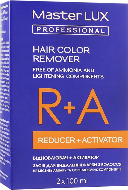 Средство для удаления красителя с волос - Master LUX Professional