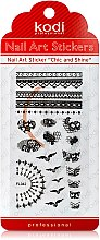 Духи, Парфюмерия, косметика Наклейка для дизайна ногтей - Kodi Professional Nail Art Stickers FL042