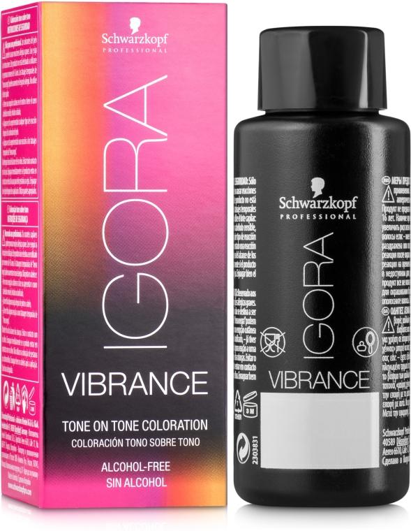 Краска для волос без содержания спирта - Schwarzkopf Professional Igora Vibrance Alcohol-Free