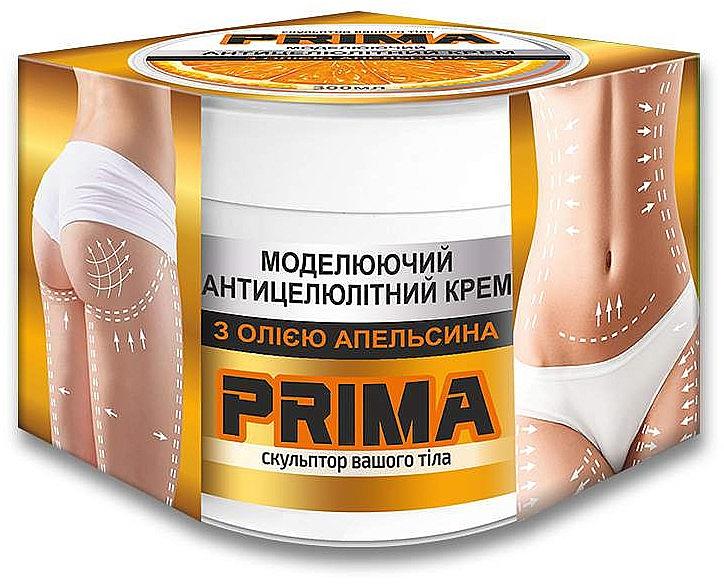 """Крем моделирующий антицеллюлитный с маслом апельсина """"Прима"""" - Красота и Здоровье"""