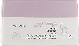 Духи, Парфюмерия, косметика Маска для волос - Wella Professionals Wella SP Balance Scalp Mask