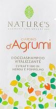 Парфумерія, косметика Відновлювальний шампунь-гель для душу - Nature's Giardino d'Agrumi Vitalizing Shower Shampoo (пробник)