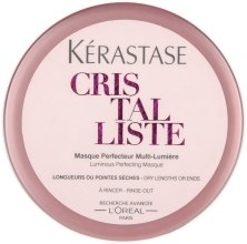 Маска для легкости и сияния сухих волос и кончиков - Kerastase Cristalliste Luminous Perfecting Masque — фото N4