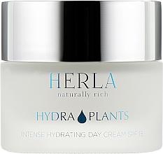 Духи, Парфюмерия, косметика Дневной крем для лица - Herla Hydra Plants Intense Hydrating Day Cream SPF 15