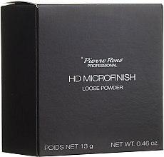 Духи, Парфюмерия, косметика Рассыпчатая пудра с HD-эффектом - Pierre Rene Professional HD Microfinish Loose Powder