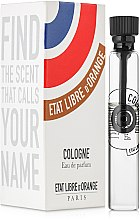 Духи, Парфюмерия, косметика Etat Libre d'Orange Cologne - Парфюмированная вода (пробник)