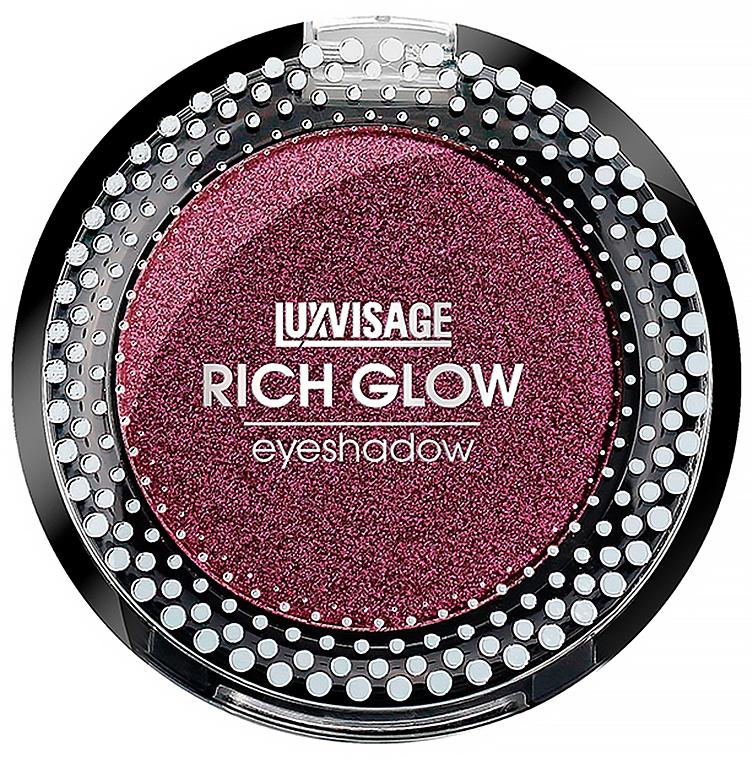 Тени для век - Luxvisage Rich Glow Eyeshadow