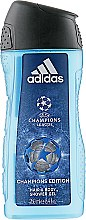 Парфумерія, косметика Adidas UEFA Champions League Champions Edition - Гель для душу