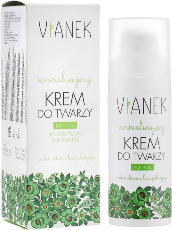 Нормализирующий ночной крем для лица - Vianek Normalizing Night Cream