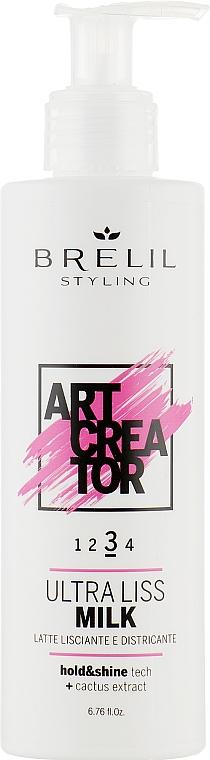 Ультраразглаживающее молочко для волос - Brelil Art Creator Ultra Liss Milk