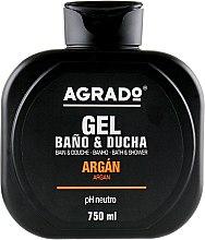 Духи, Парфюмерия, косметика Гель для ванны и душа с маслом аргана - Agrado Sower Gel