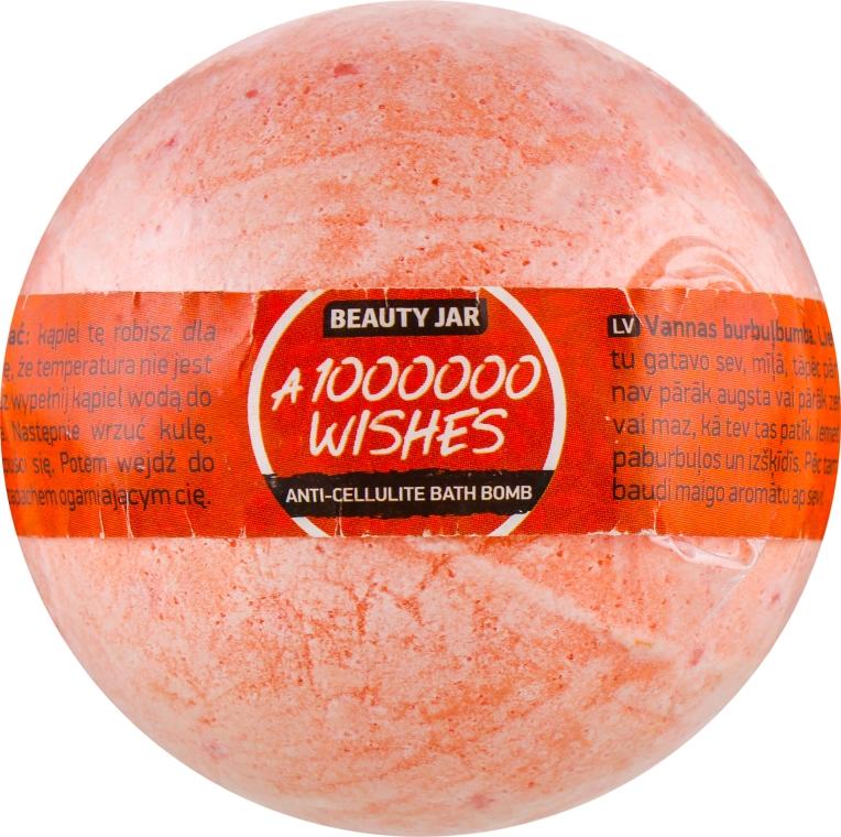 "Бомбочка для ванны ""1000000 Wishes"" - Beauty Jar Anti-Cellulite Bath Bomb"