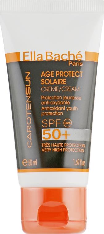 Солнцезащитный крем SPF50 - Ella Bache Sun Age Protect Cream SPF50