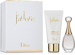 Духи, Парфюмерия, косметика Dior Jadore - Набор (edp/5ml + b/milk/20ml)