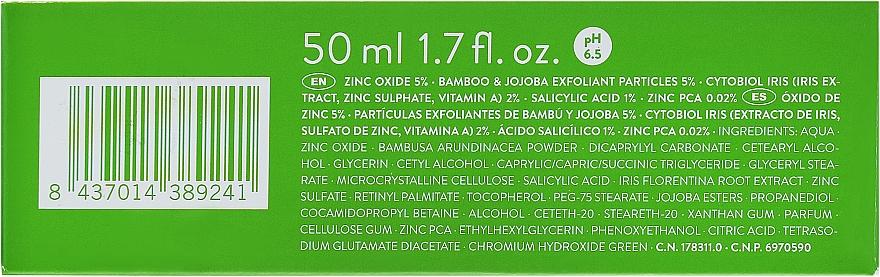 Очищающий крем-скраб для жирной и проблемной кожи - Babe Laboratorios Exfoliating Cream — фото N3