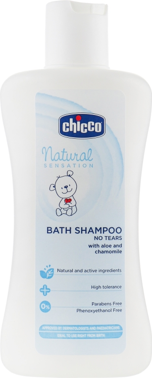 Шампунь-пена для купания - Chicco Natural Sensation  — фото N2