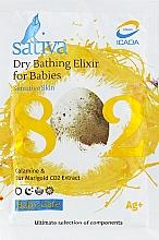 Духи, Парфюмерия, косметика Сухой эликсир для купания детей №802 - Sativa Baby Care Dry Bathing Elixir For Babies