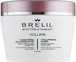 Духи, Парфюмерия, косметика Маска для придания объёма - Brelil Bio Treatment Volume Hair Mask