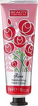 "Увлажняющий крем для рук ""Роза"" - Beauty Formulas Rose Moisturising Hand Cream — фото N1"