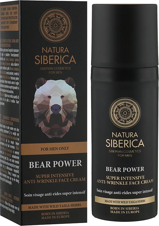 """Супер интенсивный крем от морщин """"Медвежья сила"""" - Natura Siberica"""