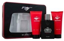 Духи, Парфюмерия, косметика Mustang Sport - Набор (edt 100ml + s/gel 150ml + ash/balm 150ml)