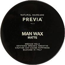 Духи, Парфюмерия, косметика Воск средней фиксации - Previa Man Wax Matte
