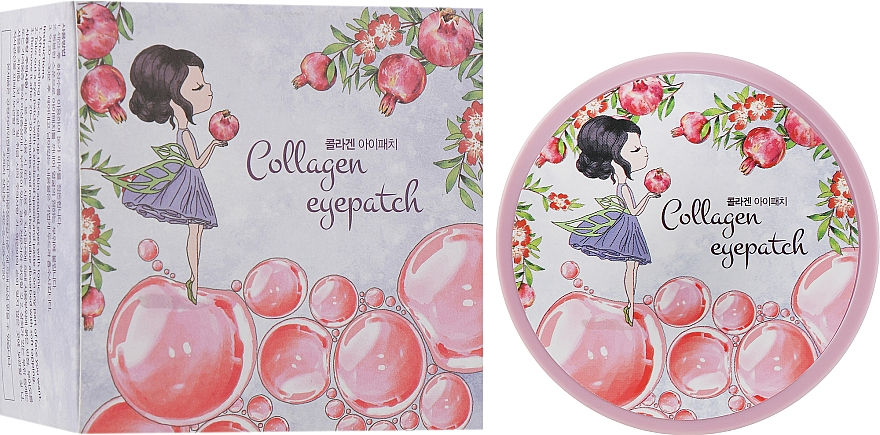 Патчи под глаза с коллагеном - Veraclara Collagen Eye Patch