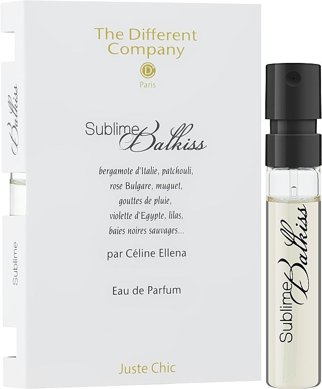 The Different Company Sublime Balkiss - Парфюмированная вода (пробник)