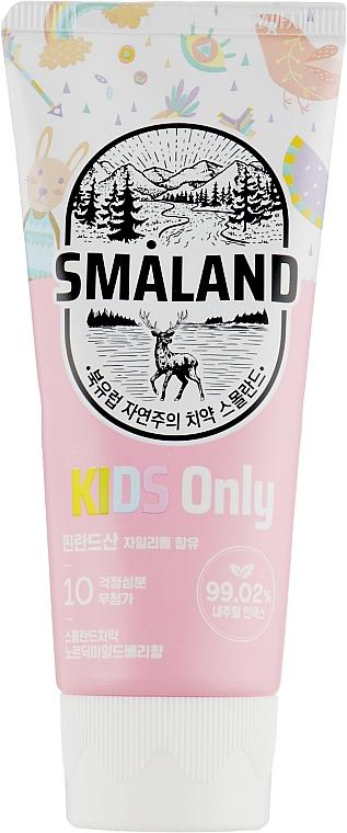"Детская зубная паста ""Малина"" - Smaland Mild Raspberry Kids"