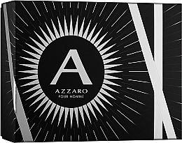 Духи, Парфюмерия, косметика Azzaro Pour Homme - Набор (edt/100ml + b/shm/100ml + after shave/50ml)