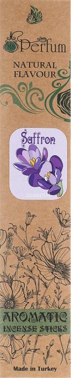 Аромапалочки с успокаивающим ароматом шафрана - MSPerfum
