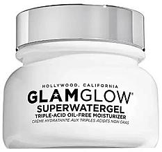 Духи, Парфюмерия, косметика Гель для лица увлажняющий с кислотами - Glamglow Superwatergel Triple Acid Oil-Free Moisturizer