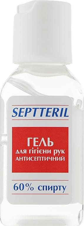"""Гель для гигиены рук """"Антисептический"""", 60% спирта - Septteril"""