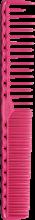 Парфумерія, косметика Гребінець для стрижки, 185мм - Y.S.Park Professional 332 Cutting Combs Pink