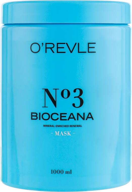 Маска для жирных волос - O'Revle Bioceana №3 Mask