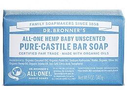 Духи, Парфюмерия, косметика Мыло для детей - Dr. Bronner's Pure Castile Bar Soap Baby-Mild